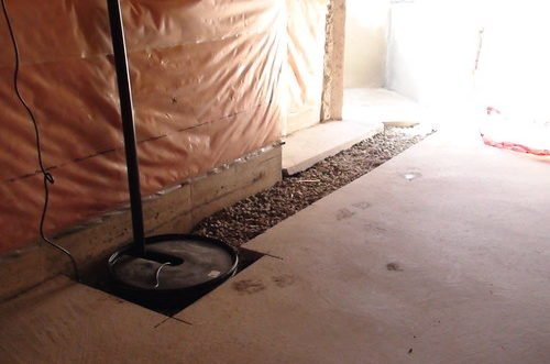 basement sump pump