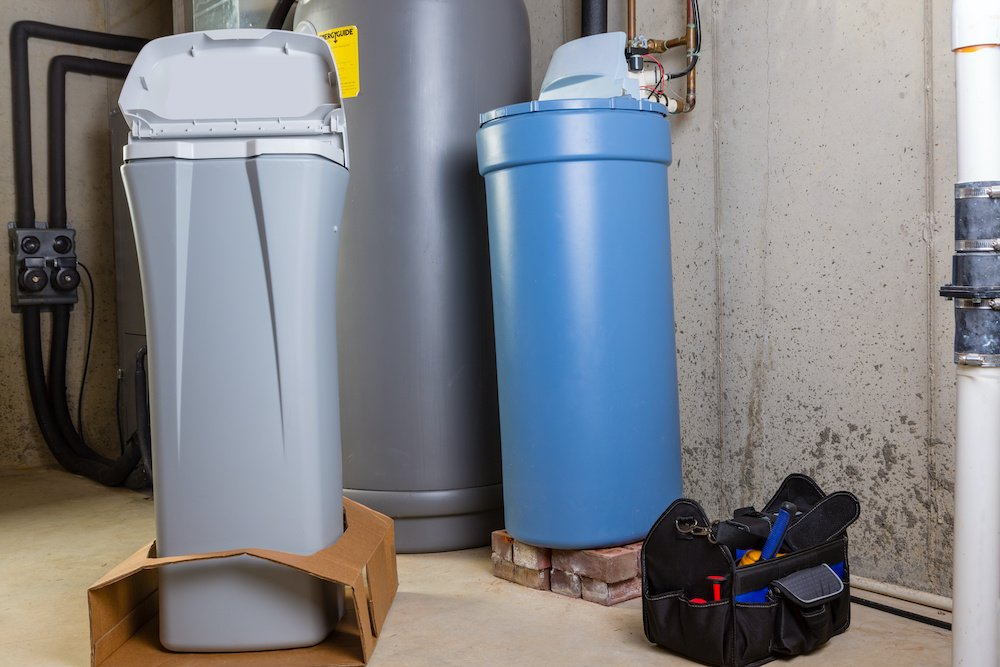 what size water softener for family of 4